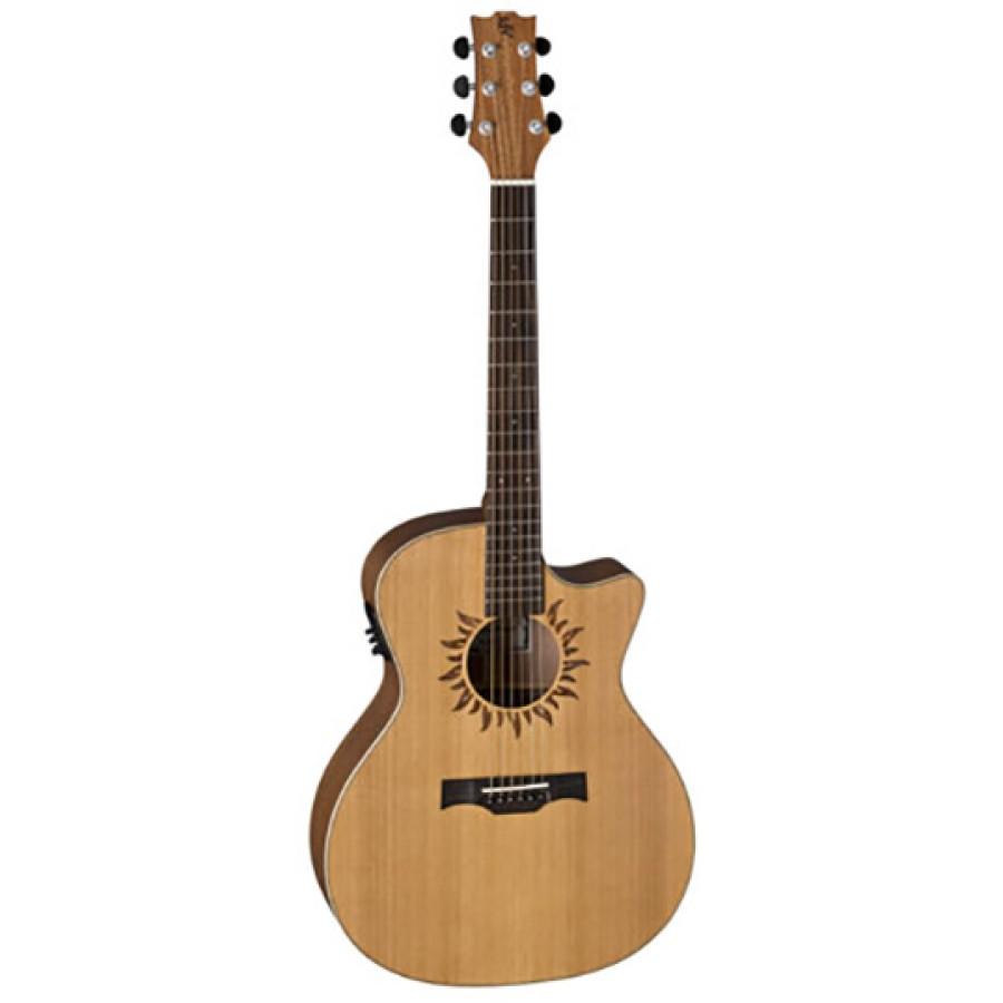 Elektroakustinė gitara Baton Rouge X1C/ACEsun