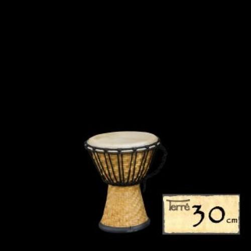 Džembė bamboo 30cm